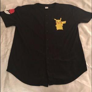 Pokémon Pikachu Baseball Jersey